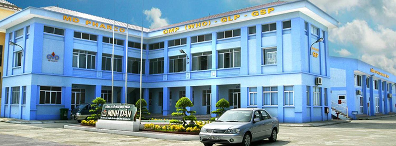 Công ty CP dược phẩm Minh Dân