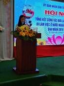 Hội nghị tổng kết đưa lao động đi làm việc nước ngoài giai đoạn 2016 - 2020