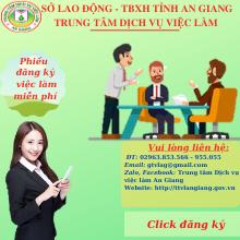 Phiếu dành cho người lao động tìm việc làm